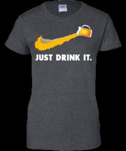 image 574 247x296px Love Beer: Just Drink It Nike Logo T Shirts, Hoodies, Tank Top