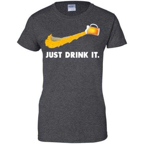 image 574 490x490px Love Beer: Just Drink It Nike Logo T Shirts, Hoodies, Tank Top