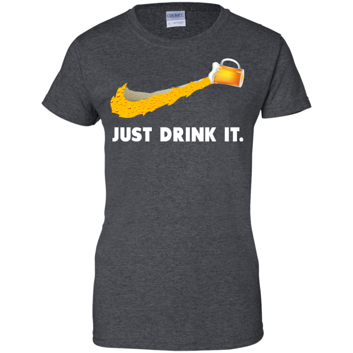 image 574px Love Beer: Just Drink It Nike Logo T Shirts, Hoodies, Tank Top