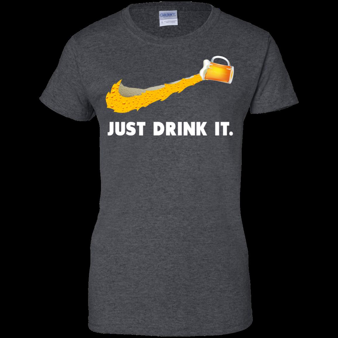 Love Beer Just Drink It Nike Logo T Shirts Hoodies Tank Top