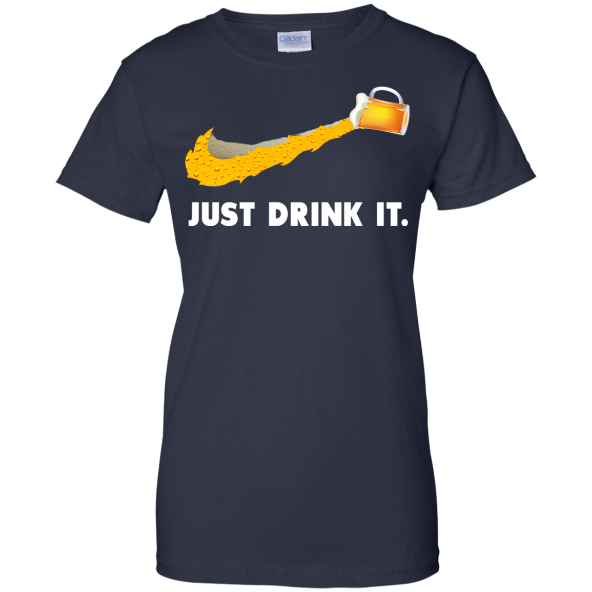 image 575px Love Beer: Just Drink It Nike Logo T Shirts, Hoodies, Tank Top