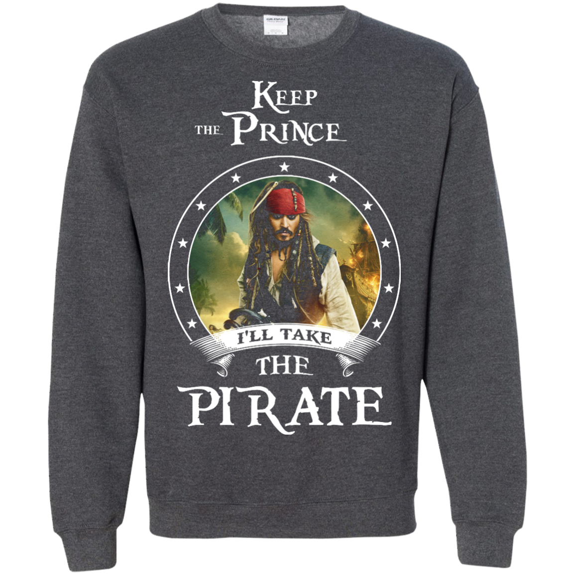 image 58px Pirates Of the Caribbean: Keep The Prince I'll Take The Pirate T Shirts, Hoodies