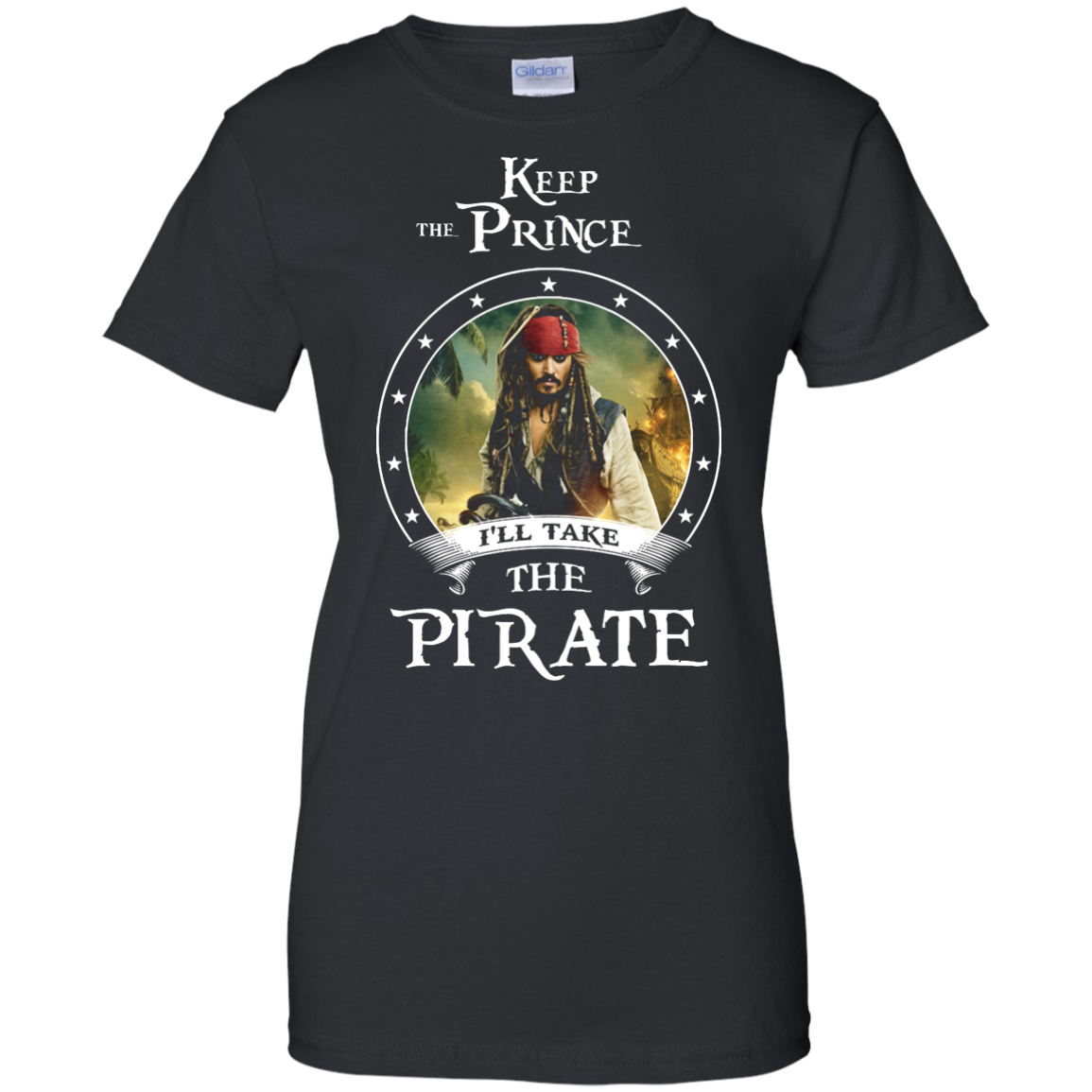 image 59px Pirates Of the Caribbean: Keep The Prince I'll Take The Pirate T Shirts, Hoodies