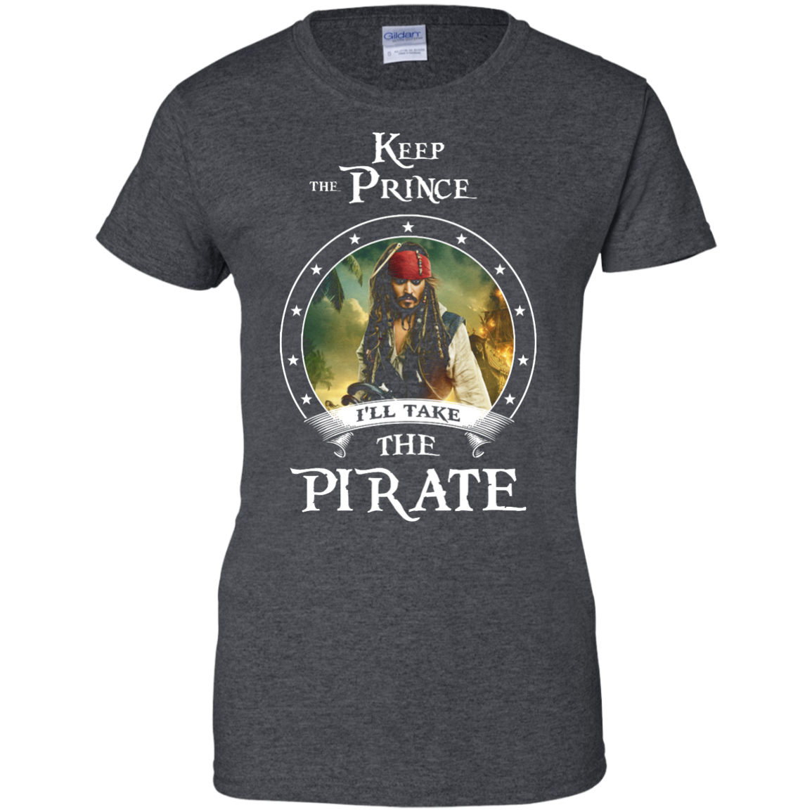 image 60px Pirates Of the Caribbean: Keep The Prince I'll Take The Pirate T Shirts, Hoodies