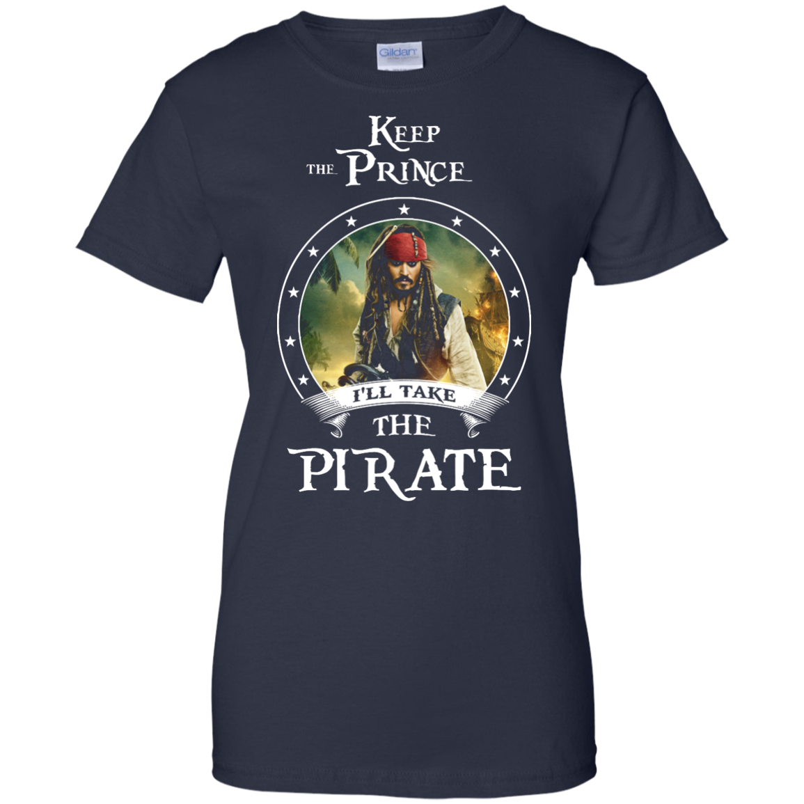 image 61px Pirates Of the Caribbean: Keep The Prince I'll Take The Pirate T Shirts, Hoodies