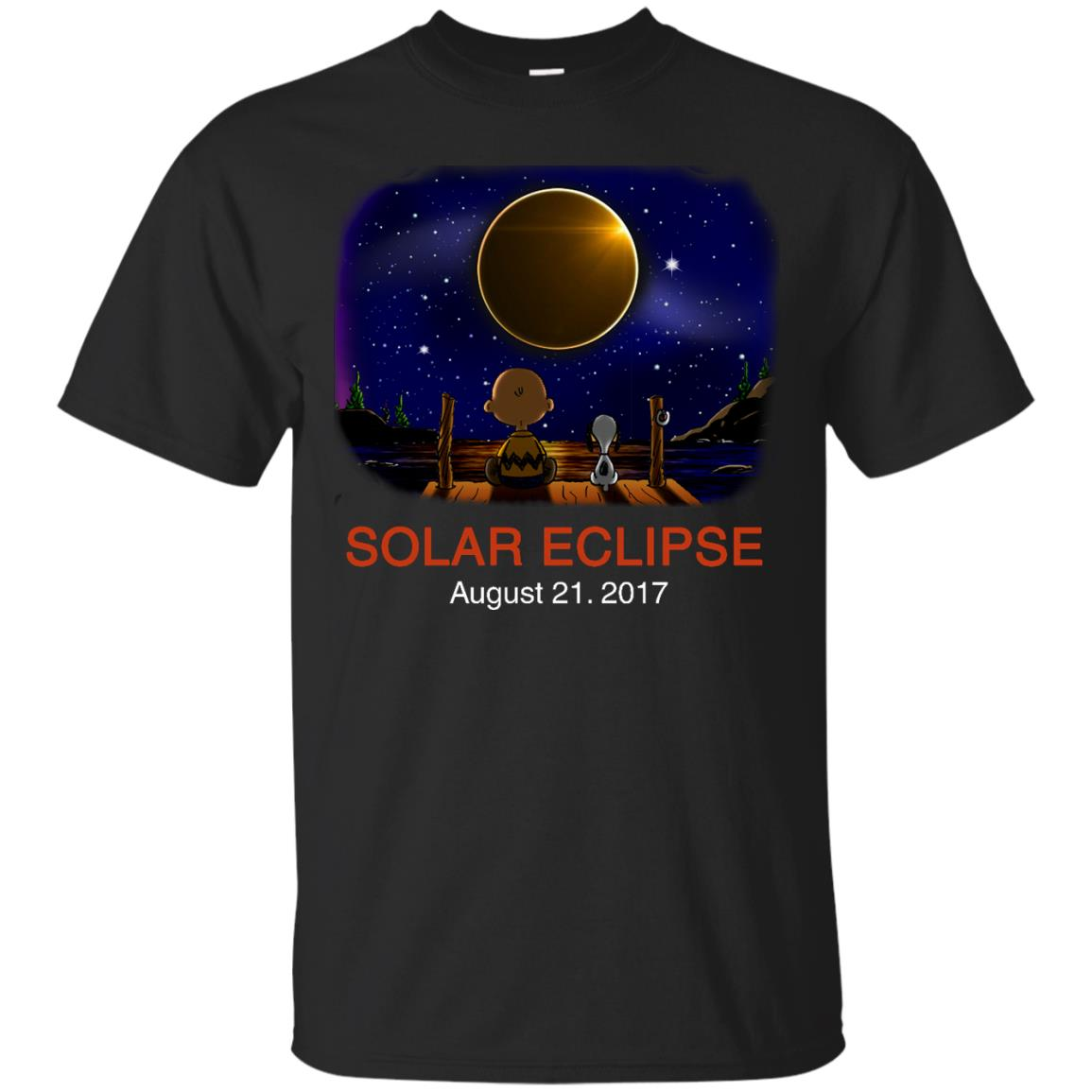 image 72px Total Solar Eclipse 2017 – Snoopy And Charlie Brown T Shirts, Hoodies, Tank