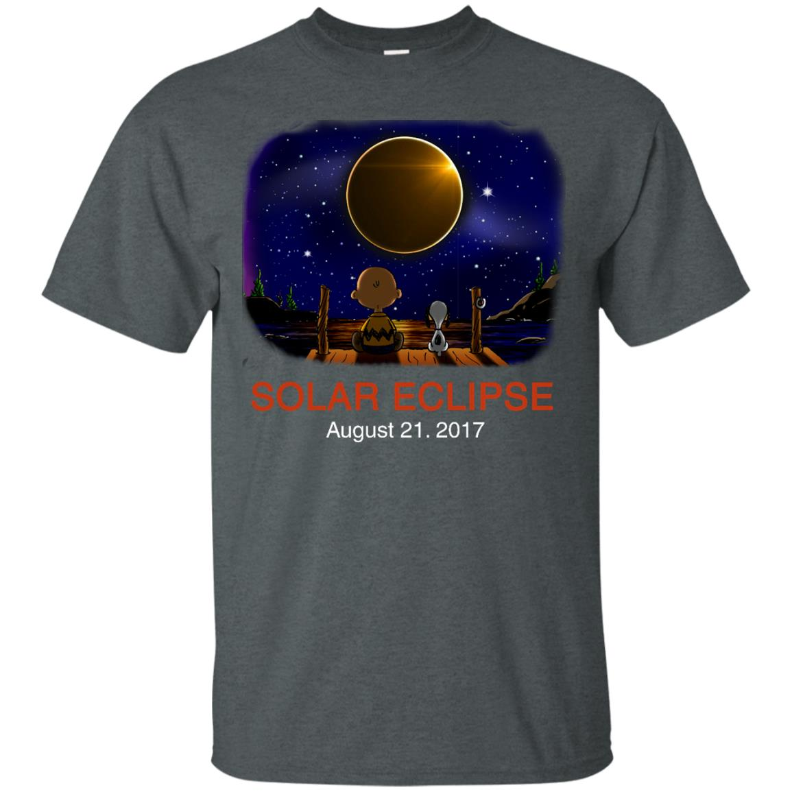 image 73px Total Solar Eclipse 2017 – Snoopy And Charlie Brown T Shirts, Hoodies, Tank