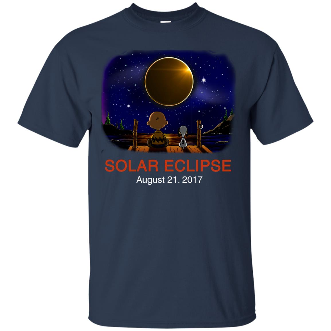 image 74px Total Solar Eclipse 2017 – Snoopy And Charlie Brown T Shirts, Hoodies, Tank