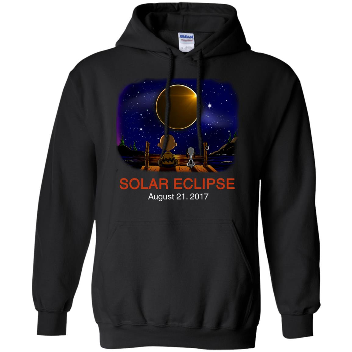 image 77px Total Solar Eclipse 2017 – Snoopy And Charlie Brown T Shirts, Hoodies, Tank