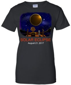 image 80 247x296px Total Solar Eclipse 2017 – Snoopy And Charlie Brown T Shirts, Hoodies, Tank