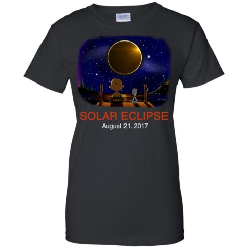 image 80 490x490px Total Solar Eclipse 2017 – Snoopy And Charlie Brown T Shirts, Hoodies, Tank