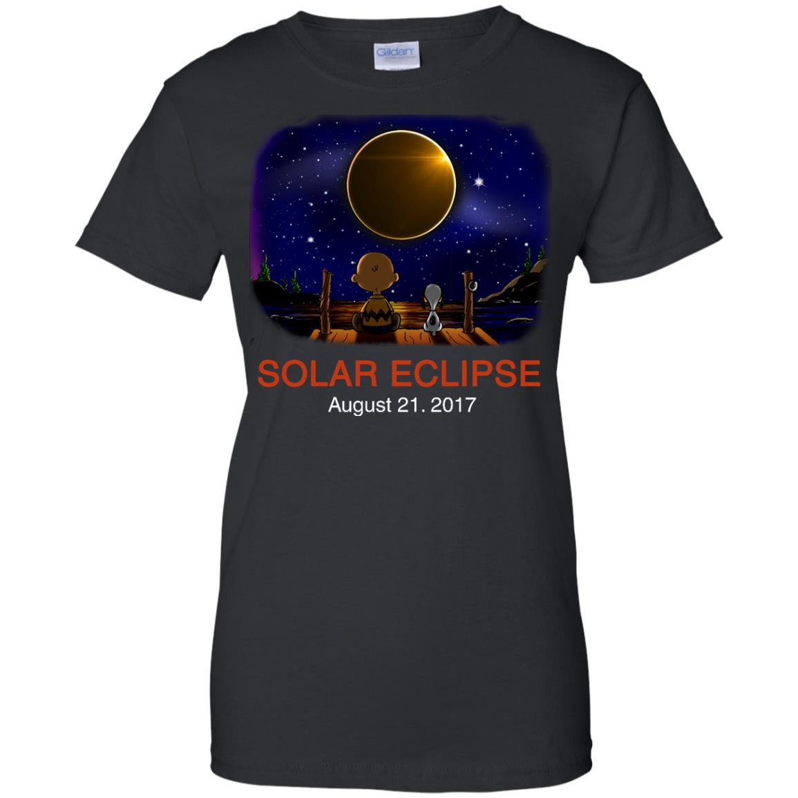image 80px Total Solar Eclipse 2017 – Snoopy And Charlie Brown T Shirts, Hoodies, Tank