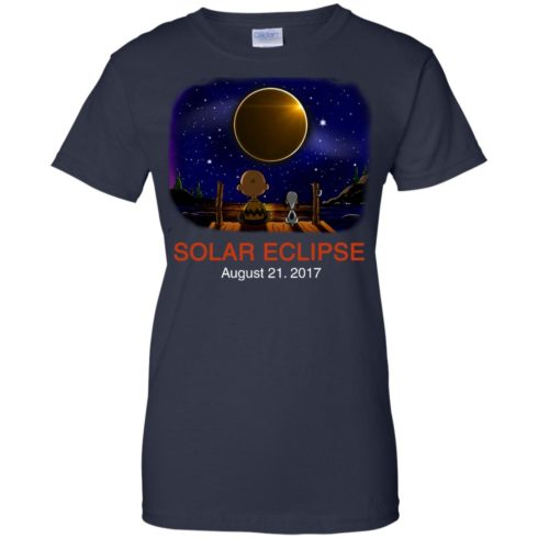 image 82 490x490px Total Solar Eclipse 2017 – Snoopy And Charlie Brown T Shirts, Hoodies, Tank