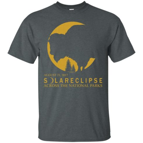 image 84 490x490px Solar Eclipse 2017 Across National Parks T Shirts, Hoodies, Tank Top