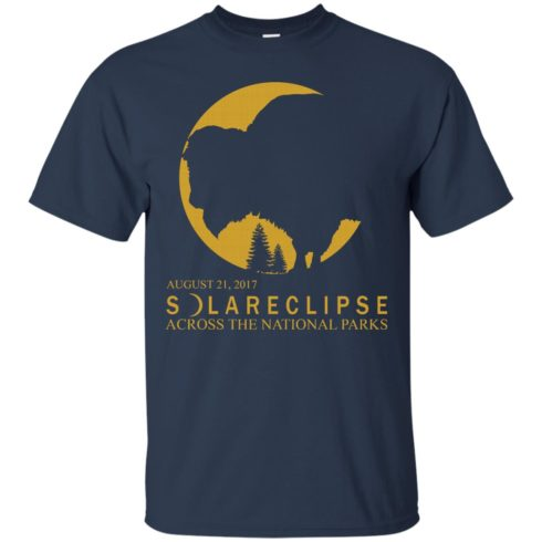 image 85 490x490px Solar Eclipse 2017 Across National Parks T Shirts, Hoodies, Tank Top