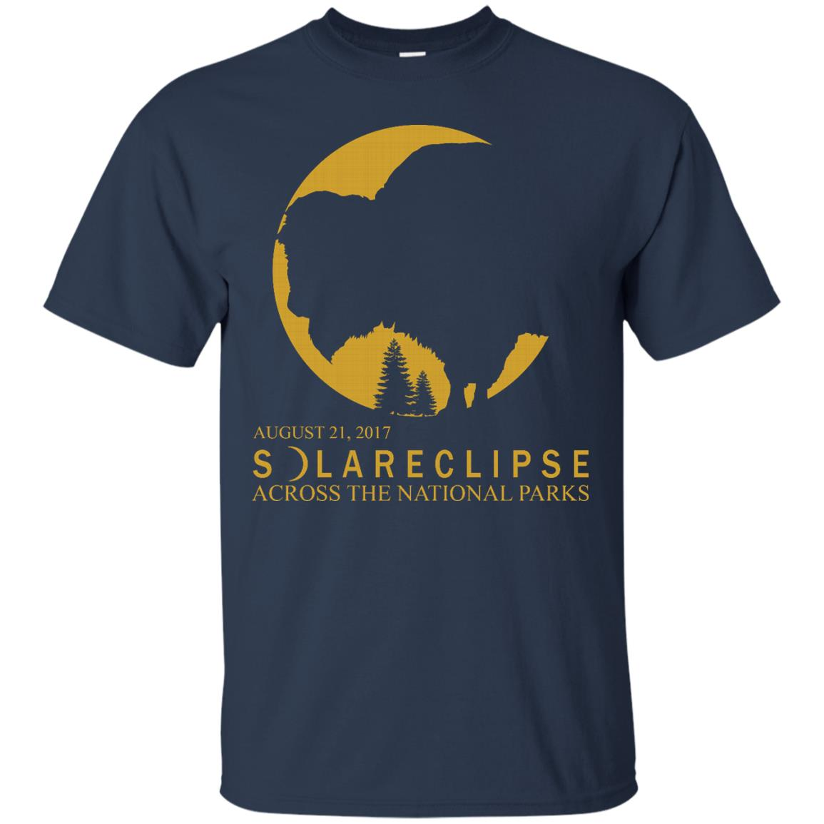 Solar Eclipse 2017 Across National Parks T Shirts Hoodies