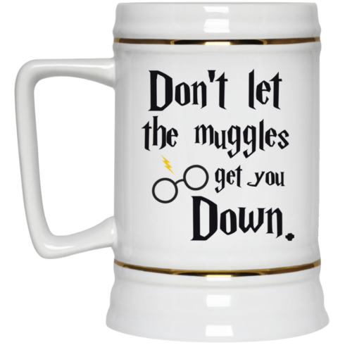image 104 490x490px Harry Potter: Don't Let The Muggles Get You Down Coffee Mug