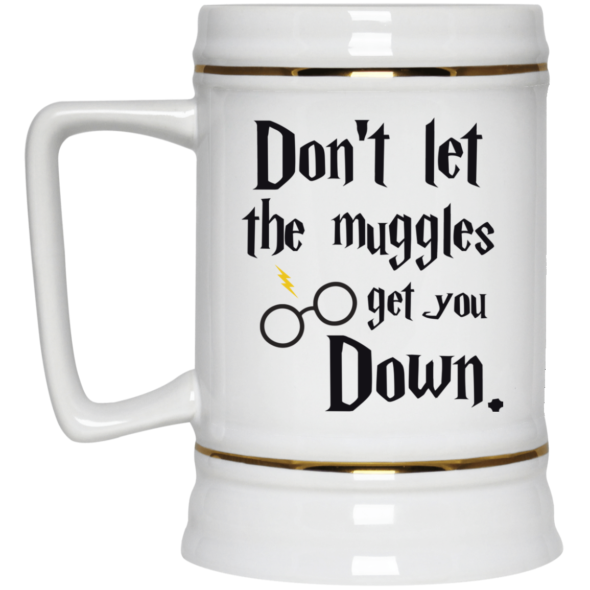 image 104px Harry Potter: Don't Let The Muggles Get You Down Coffee Mug