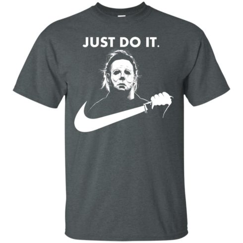 image 105 490x490px Michael Myers Just Do It Halloween T Shirts, Hoodies, Tank Top