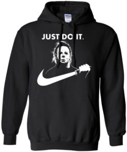 image 107 247x296px Michael Myers Just Do It Halloween T Shirts, Hoodies, Tank Top