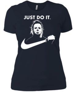 image 112 247x296px Michael Myers Just Do It Halloween T Shirts, Hoodies, Tank Top