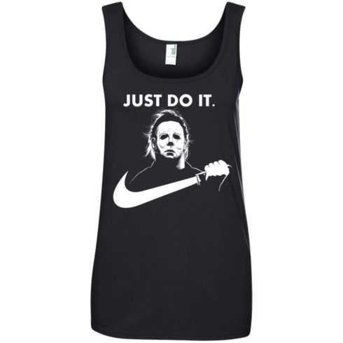 image 113 490x490px Michael Myers Just Do It Halloween T Shirts, Hoodies, Tank Top