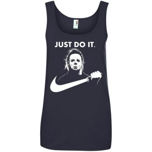 image 114 490x490px Michael Myers Just Do It Halloween T Shirts, Hoodies, Tank Top