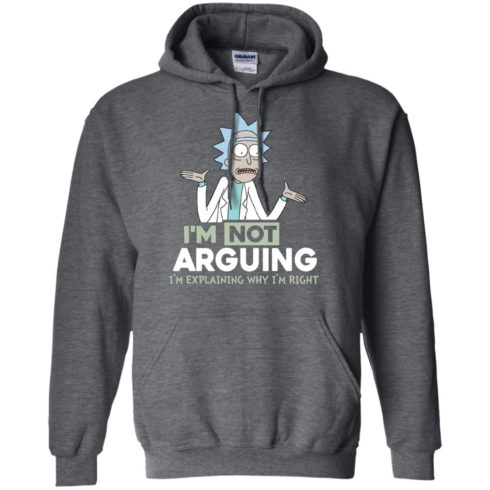 image 17 490x490px Rick and Morty: I'm Not Arguing I'm Explaining Why I'm Right T Shirts, Hoodies, Tank