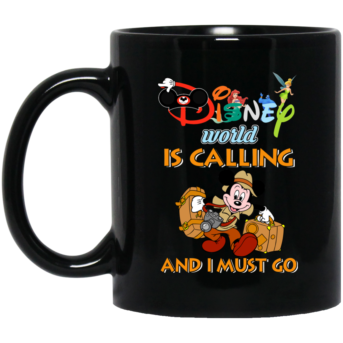 image 17px Disney World Is Calling and I Must Go Coffee Mug
