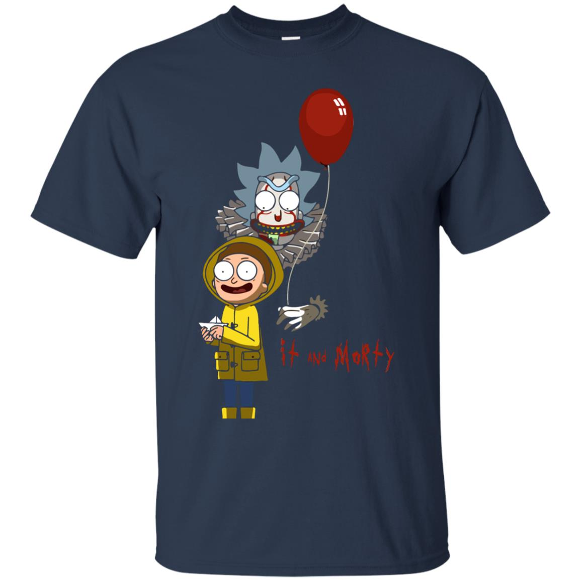 image 175px It and Morty Rick and Morty ft IT Movies T Shirts, Hoodies, Tank Top