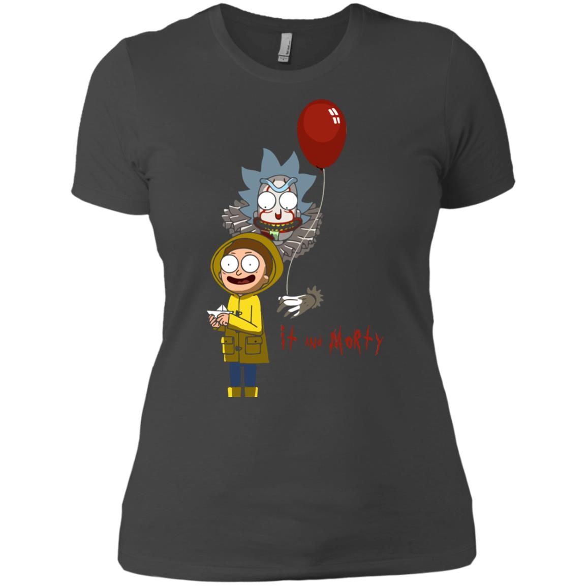 image 180px It and Morty Rick and Morty ft IT Movies T Shirts, Hoodies, Tank Top