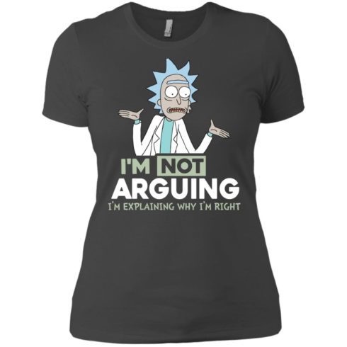 image 19 490x490px Rick and Morty: I'm Not Arguing I'm Explaining Why I'm Right T Shirts, Hoodies, Tank