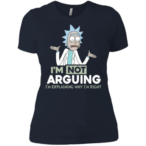 image 20 490x490px Rick and Morty: I'm Not Arguing I'm Explaining Why I'm Right T Shirts, Hoodies, Tank