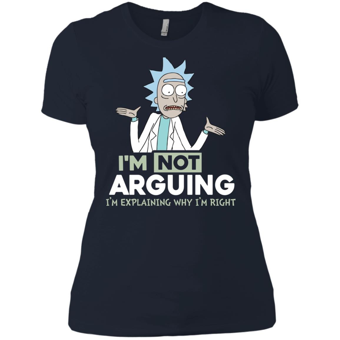 image 20px Rick and Morty: I'm Not Arguing I'm Explaining Why I'm Right T Shirts, Hoodies, Tank