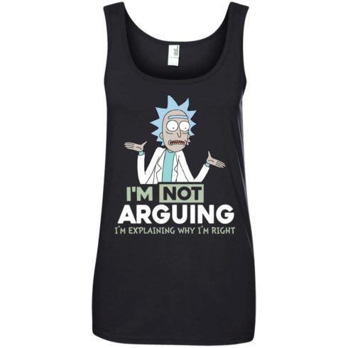 image 21 490x490px Rick and Morty: I'm Not Arguing I'm Explaining Why I'm Right T Shirts, Hoodies, Tank