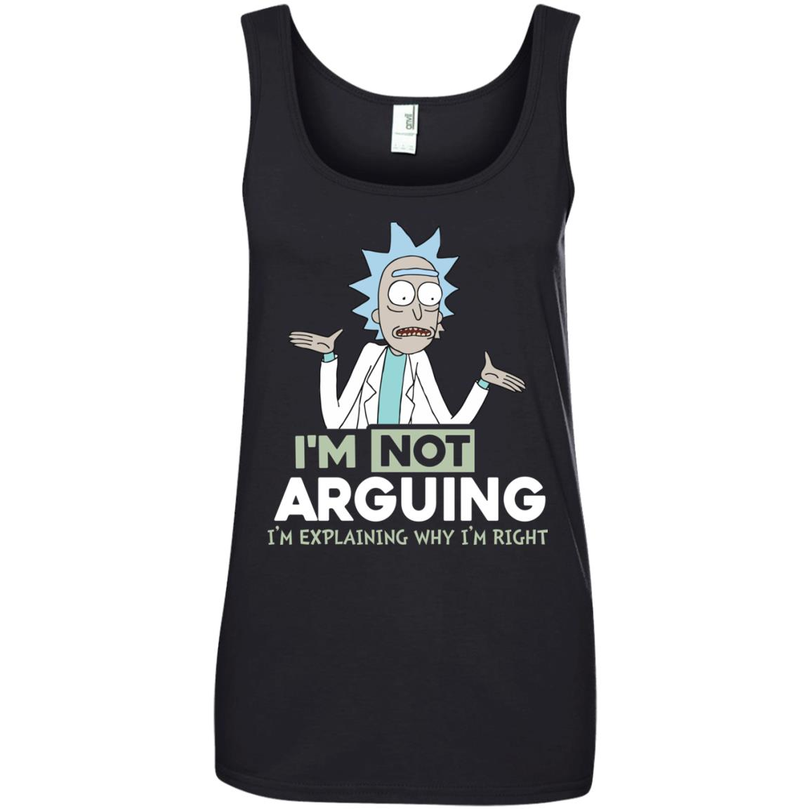 image 21px Rick and Morty: I'm Not Arguing I'm Explaining Why I'm Right T Shirts, Hoodies, Tank