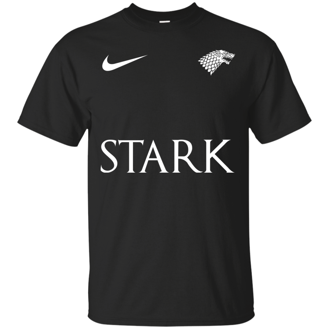 image 21px Game of Thrones Nike Team Stark Fooball T Shirts
