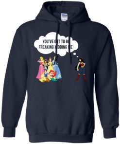 image 214 247x296px Wonder Woman vs Disney princes You've got to be freaking kidding me t shirts, hoodies, tank