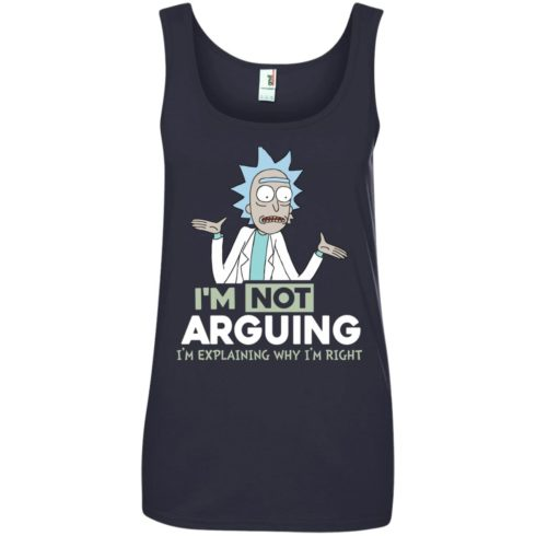 image 22 490x490px Rick and Morty: I'm Not Arguing I'm Explaining Why I'm Right T Shirts, Hoodies, Tank