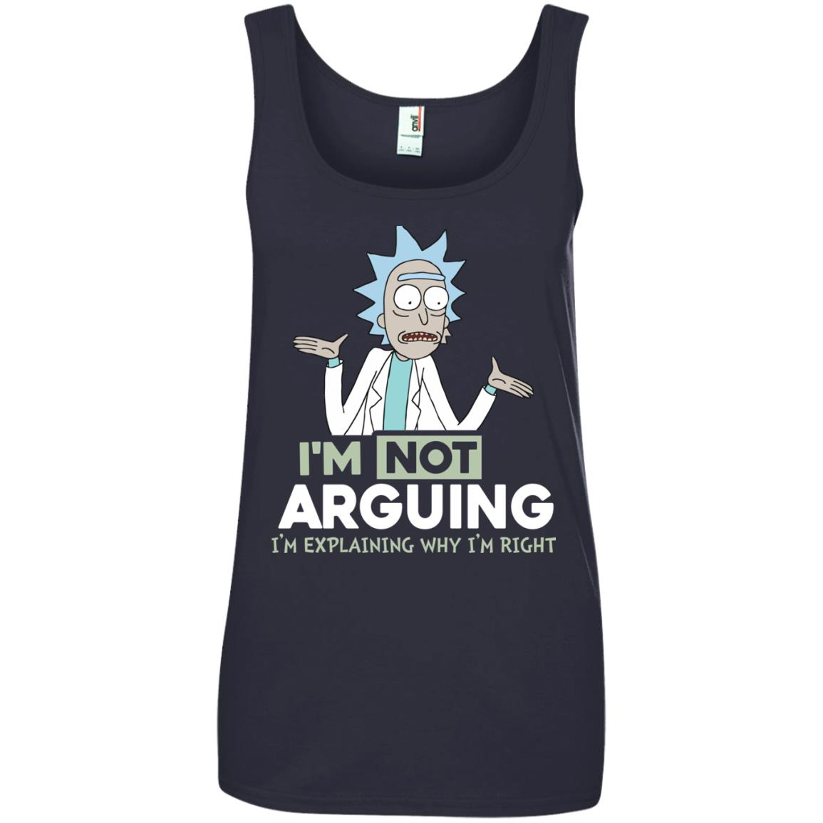 image 22px Rick and Morty: I'm Not Arguing I'm Explaining Why I'm Right T Shirts, Hoodies, Tank