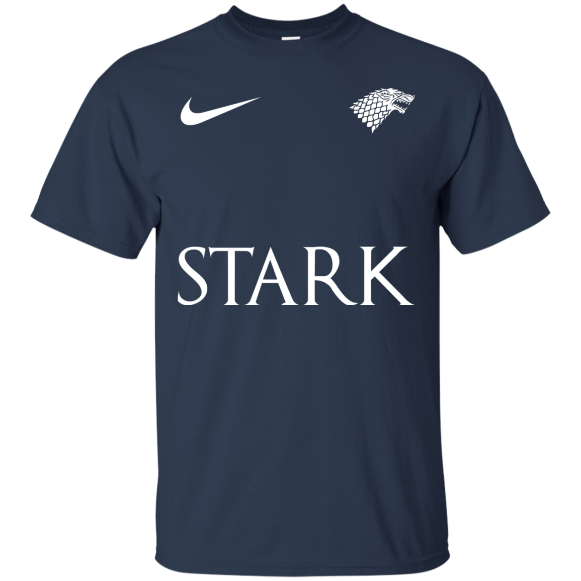 image 22px Game of Thrones Nike Team Stark Fooball T Shirts