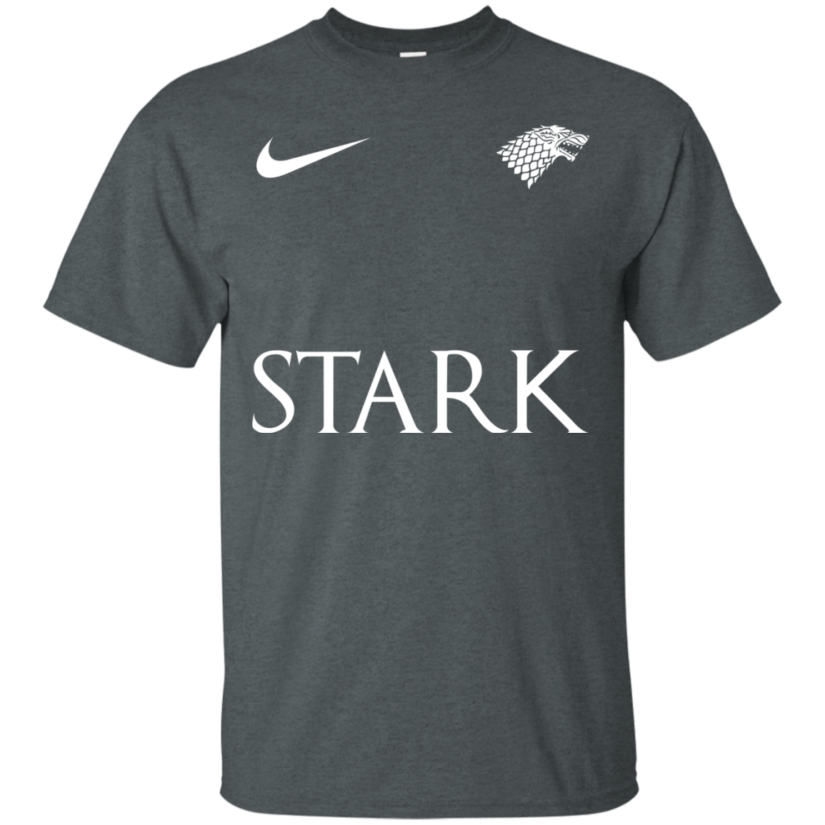 image 23px Game of Thrones Nike Team Stark Fooball T Shirts