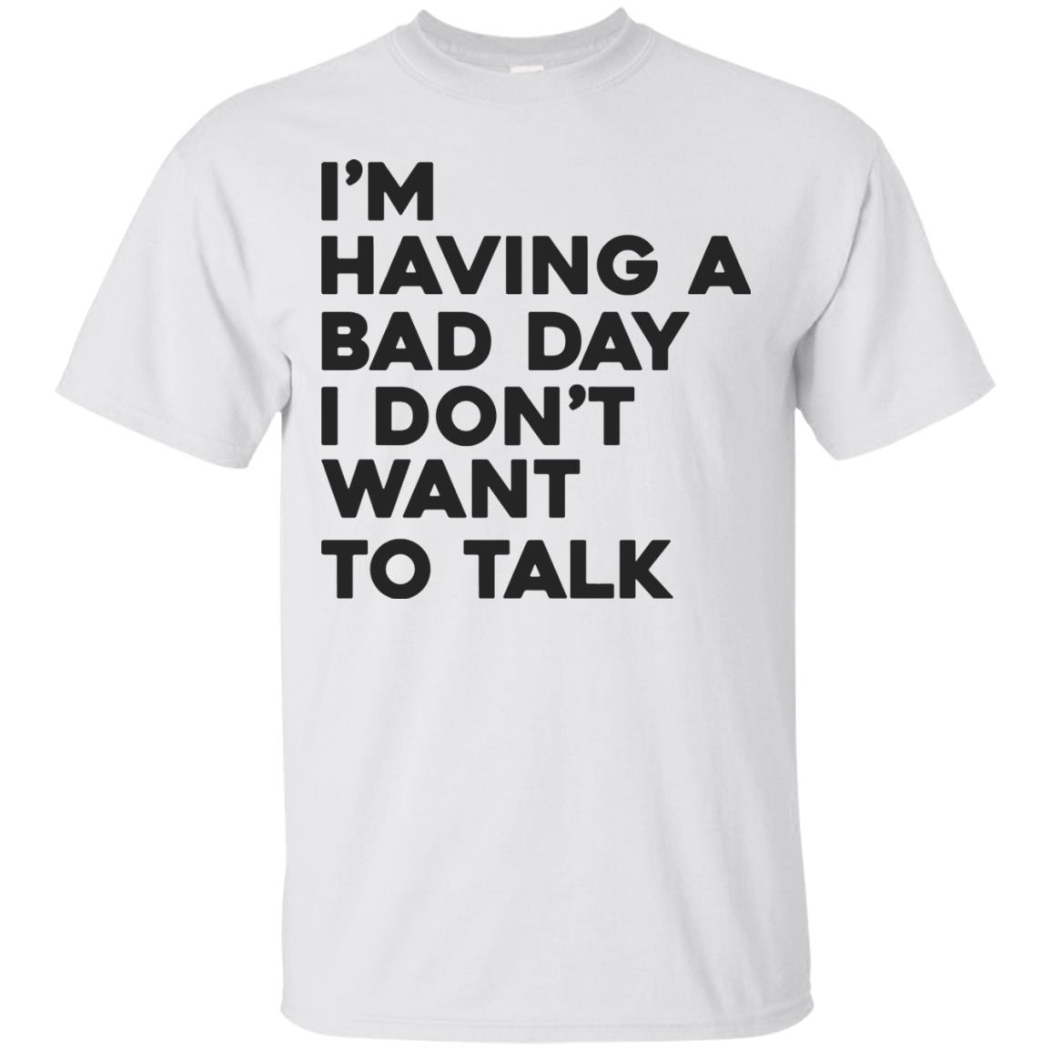 image 236px I'm having a bad day I don't want to talk t shirt, hoodies, tank