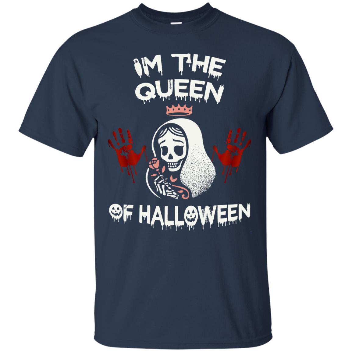 image 258px Im The Queen Of Halloween T Shirts, Hoodies, Tank