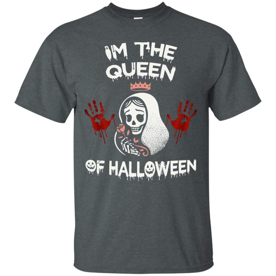 image 259px Im The Queen Of Halloween T Shirts, Hoodies, Tank