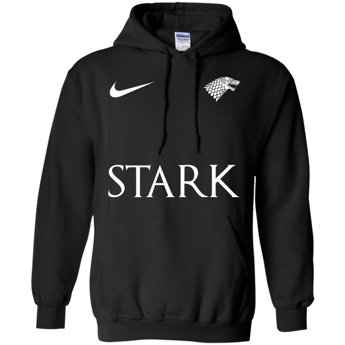 image 26px Game of Thrones Nike Team Stark Fooball T Shirts