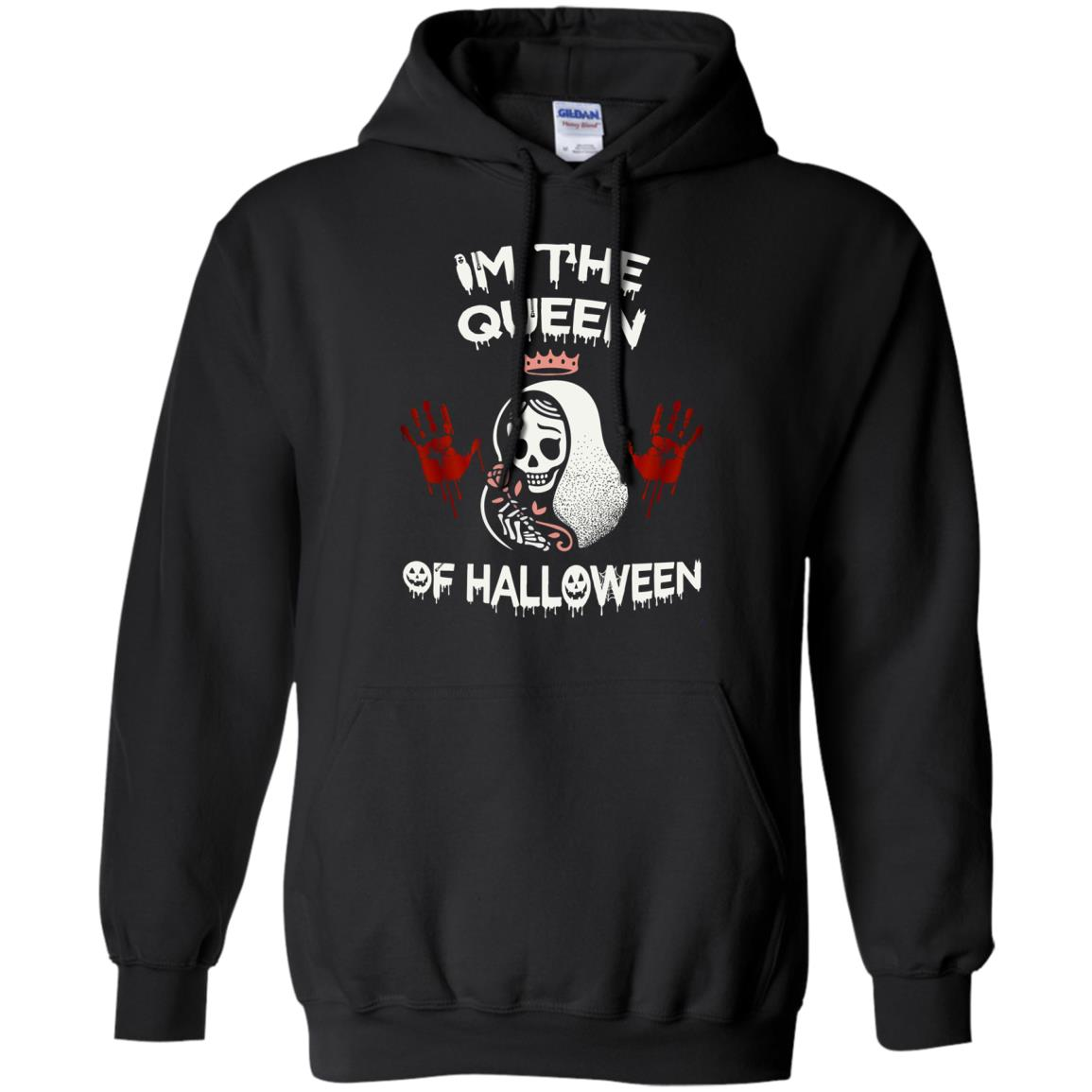 image 260px Im The Queen Of Halloween T Shirts, Hoodies, Tank