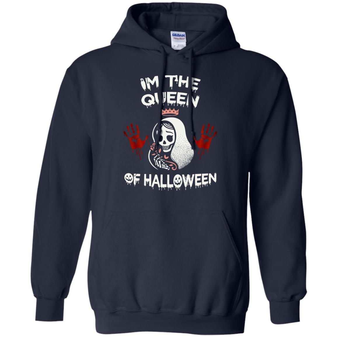 image 261px Im The Queen Of Halloween T Shirts, Hoodies, Tank