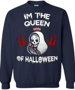 image 263 247x296px Im The Queen Of Halloween T Shirts, Hoodies, Tank