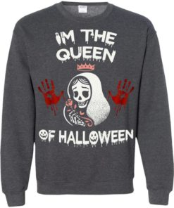 image 264 247x296px Im The Queen Of Halloween T Shirts, Hoodies, Tank